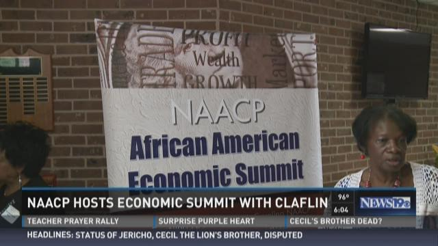 NAACP Hosts Economic Summit with Claflin