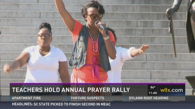 SC Teachers Gather to Pray for Schools