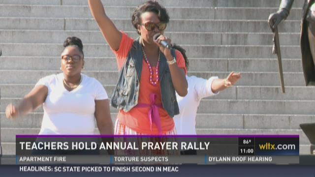 SC Teachers Gather to Pray for Schools