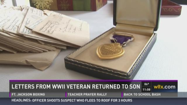 Letters from WWII Veteran Returned to Son