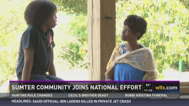 Sumter Community Joins National Effort