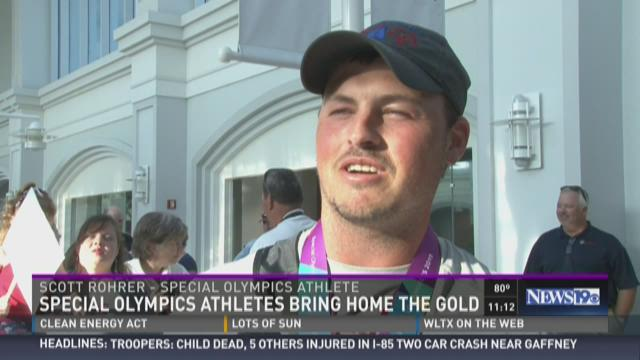 Special Olympics Athletes Bring Home the Gold