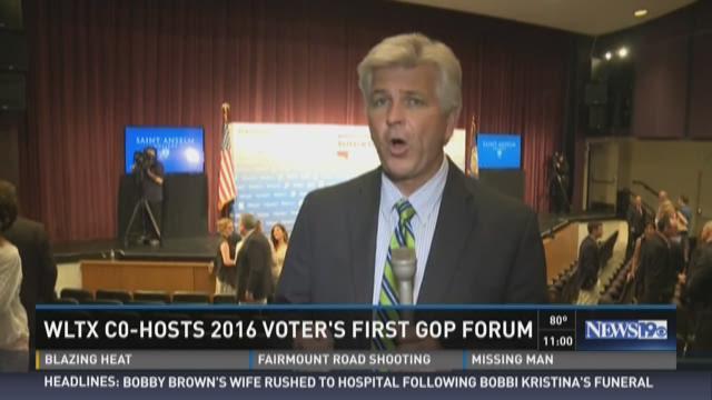 WLTX Co-Hosts 2016 Voter's First GOP Forum