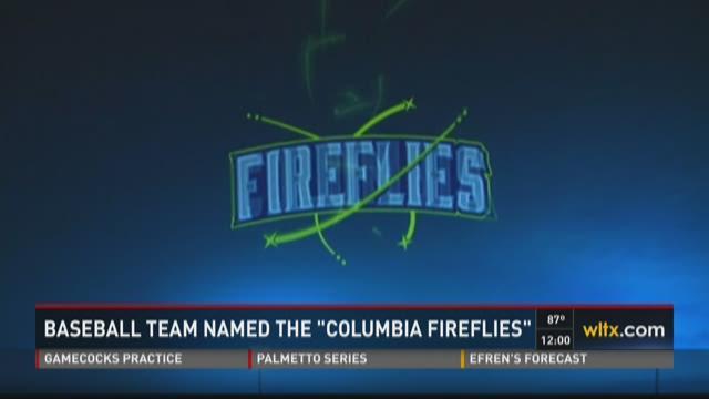 Baseball Team Name: Columbia Fireflies