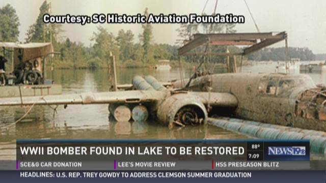 WWII Bomber Found in Lake To Be Restored