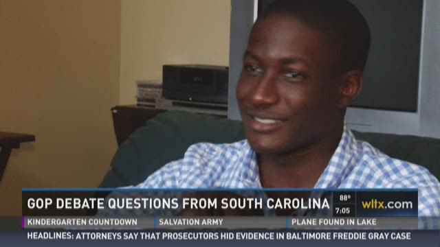 Midlands Teen's Question Read at GOP Debate