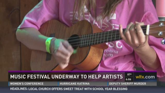 Music Festival Underway to Help Artists