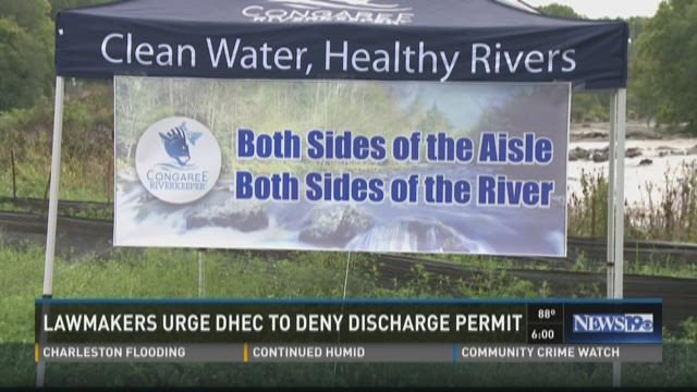 Lawmakers Urge DHEC To Deny Discharge Permit
