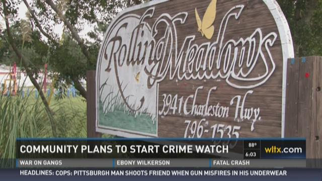 Community Plans to Start Crime Watch