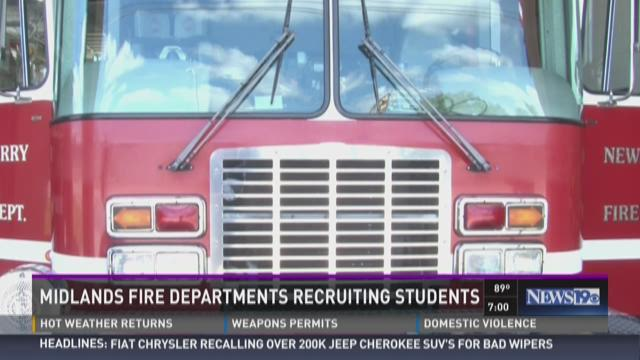 Midlands FIre Departments Recruiting Students