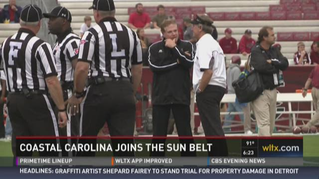 Coastal Carolina Joining The Sun Belt