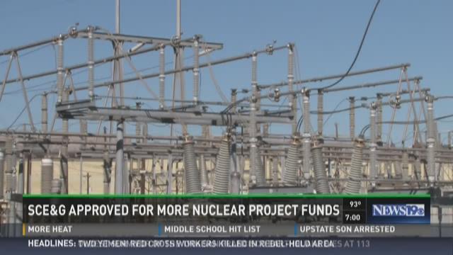 SCE&G's nuclear power generators are located near Jenkinsville, South Carolina.