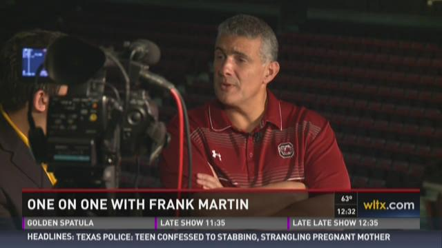 Talking Hoops With Frank Martin