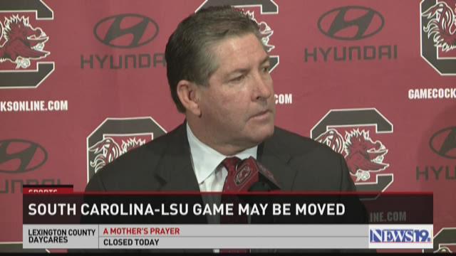 South Carolina-LSU game may be moved