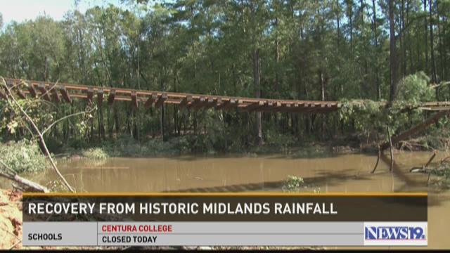 Flooding hits Eastover, Hopkins area