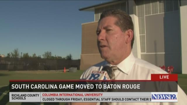 Ray Tanner On The Decision To Move The LSU Game To Baton Rouge