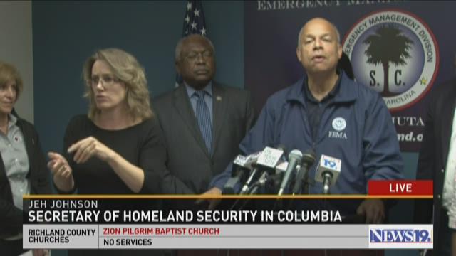 Sec. of Homeland Security in Columbia