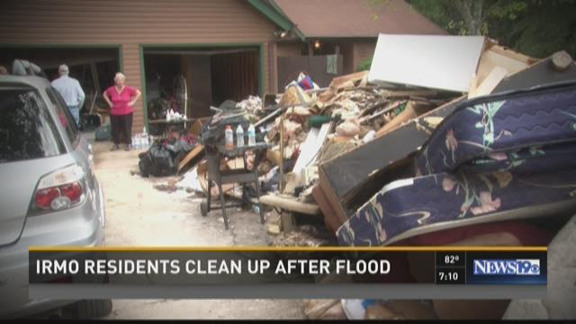 Irmo Residents Clean Up After Flood