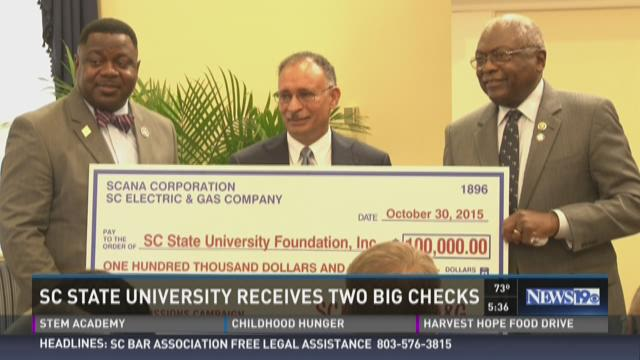 SC State Receives Big Donation